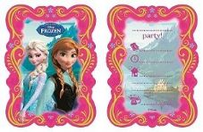6 Disney Frozen Party Invitations